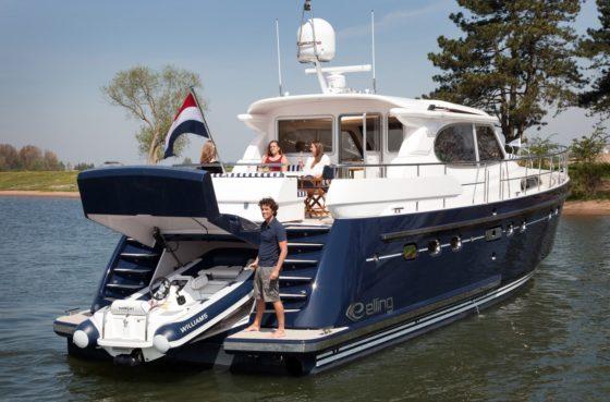 Голландская яхта «кругосветного» класса — Elling E6